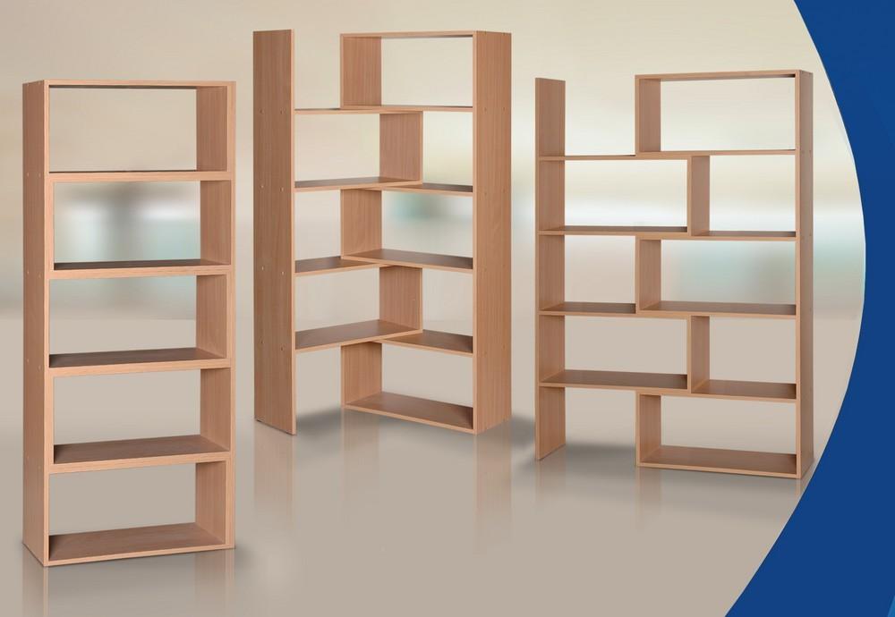Гармония-03 книжный шкаф-стеллаж - мечта-мебель.ру.